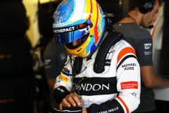 Baku City Circuit, Baku, Azerbaijan.Saturday 24 June 2017.Fernando Alonso, McLaren.Photo: Steven Tee/McLarenref: Digital Image _R3I3223