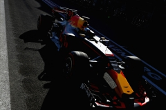 BAKU, AZERBAIJAN - JUNE 24: Daniel Ricciardo of Australia driving the (3) Red Bull Racing Red Bull-TAG Heuer RB13 TAG Heuer in the Pitlane during qualifying for the Azerbaijan Formula One Grand Prix at Baku City Circuit on June 24, 2017 in Baku, Azerbaijan. (Photo by Mark Thompson/Getty Images) // Getty Images / Red Bull Content Pool // P-20170624-00802 // Usage for editorial use only // Please go to www.redbullcontentpool.com for further information. //