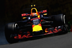 BAKU, AZERBAIJAN - JUNE 23: Max Verstappen of the Netherlands driving the (33) Red Bull Racing Red Bull-TAG Heuer RB13 TAG Heuer on track during practice for the Azerbaijan Formula One Grand Prix at Baku City Circuit on June 23, 2017 in Baku, Azerbaijan. (Photo by Clive Rose/Getty Images) // Getty Images / Red Bull Content Pool // P-20170623-01029 // Usage for editorial use only // Please go to www.redbullcontentpool.com for further information. //