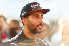 BAKU, AZERBAIJAN - JUNE 23: Daniel Ricciardo of Australia and Red Bull Racing talks to the media after practice for the Azerbaijan Formula One Grand Prix at Baku City Circuit on June 23, 2017 in Baku, Azerbaijan. (Photo by Dan Istitene/Getty Images) // Getty Images / Red Bull Content Pool // P-20170623-01704 // Usage for editorial use only // Please go to www.redbullcontentpool.com for further information. //