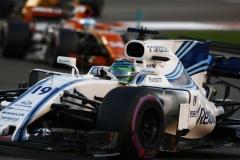 Yas Marina Circuit, Abu Dhabi, United Arab Emirates.Sunday 26 November 2017.Felipe Massa, Williams FW40 Mercedes.World Copyright: Hone/Williams ref: Digital Image _W6I4308