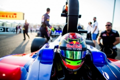 ABU DHABI, UNITED ARAB EMIRATES - NOVEMBER 26: Brendon Hartley of Scuderia Toro Rosso and New Zealand during the Abu Dhabi Formula One Grand Prix at Yas Marina Circuit on November 26, 2017 in Abu Dhabi, United Arab Emirates. (Photo by Peter Fox/Getty Images) // Getty Images / Red Bull Content Pool // P-20171126-00638 // Usage for editorial use only // Please go to www.redbullcontentpool.com for further information. //