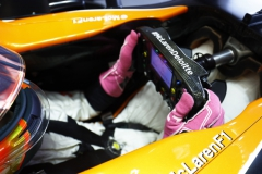 Circuit of the Americas, Austin, Texas, United States of America.Friday 20 October 2017.Stoffel Vandoorne, McLaren, in his cockpit.Photo: Steven Tee/McLarenref: Digital Image _O3I1925