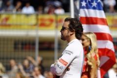 Circuit of the Americas, Austin, Texas, United States of America.Sunday 22 October 2017.Fernando Alonso, McLaren.Photo: Steven Tee/McLarenref: Digital Image _O3I4916