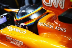 Circuit of the Americas, Austin, Texas, United States of America.Friday 20 October 2017.Fernando Alonso, McLaren.Photo: Steven Tee/McLarenref: Digital Image _R3I9280