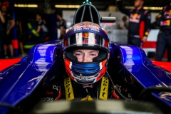 AUSTIN, TX - OCTOBER 20: Daniil Kvyat of Scuderia Toro Rosso and Russia during practice for the United States Formula One Grand Prix at Circuit of The Americas on October 20, 2017 in Austin, Texas. (Photo by Peter Fox/Getty Images) // Getty Images / Red Bull Content Pool // P-20171021-00068 // Usage for editorial use only // Please go to www.redbullcontentpool.com for further information. //