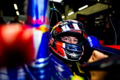 NORTHAMPTON, ENGLAND - JULY 14: Daniil Kvyat of Scuderia Toro Rosso and Russia during practice for the Formula One Grand Prix of Great Britain at Silverstone on July 14, 2017 in Northampton, England. (Photo by Peter Fox/Getty Images) // Getty Images / Red Bull Content Pool // P-20170714-01328 // Usage for editorial use only // Please go to www.redbullcontentpool.com for further information. //