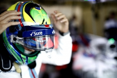 Silverstone, Northamptonshire, UK.Saturday 15 July 2017.Felipe Massa, Williams Martini Racing.Photo: Glenn Dunbar/Williamsref: Digital Image _31I4834