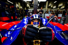 NORTHAMPTON, ENGLAND - JULY 15: Carlos Sainz of Scuderia Toro Rosso and Spain during qualifying for the Formula One Grand Prix of Great Britain at Silverstone on July 15, 2017 in Northampton, England. (Photo by Peter Fox/Getty Images) // Getty Images / Red Bull Content Pool // P-20170715-00723 // Usage for editorial use only // Please go to www.redbullcontentpool.com for further information. //