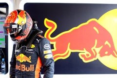 NORTHAMPTON, ENGLAND - JULY 15: Max Verstappen of Netherlands and Red Bull Racing prepares to drive during qualifying for the Formula One Grand Prix of Great Britain at Silverstone on July 15, 2017 in Northampton, England. (Photo by Mark Thompson/Getty Images) // Getty Images / Red Bull Content Pool // P-20170715-00654 // Usage for editorial use only // Please go to www.redbullcontentpool.com for further information. //