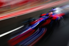 MONZA, ITALY - SEPTEMBER 02: Daniil Kvyat of Russia driving the (26) Scuderia Toro Rosso STR12 in the Pitlane during qualifying for the Formula One Grand Prix of Italy at Autodromo di Monza on September 2, 2017 in Monza, Italy. (Photo by Mark Thompson/Getty Images) // Getty Images / Red Bull Content Pool // P-20170902-29544 // Usage for editorial use only // Please go to www.redbullcontentpool.com for further information. //