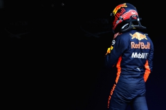SPIELBERG, AUSTRIA - JULY 08: Max Verstappen of Netherlands and Red Bull Racing walks into parc ferme during qualifying for the Formula One Grand Prix of Austria at Red Bull Ring on July 8, 2017 in Spielberg, Austria. (Photo by Mark Thompson/Getty Images) // Getty Images / Red Bull Content Pool // P-20170708-02319 // Usage for editorial use only // Please go to www.redbullcontentpool.com for further information. //