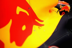 SPIELBERG, AUSTRIA - JULY 08: (EDITORS NOTE: Image was created using a variable planed lens.) Max Verstappen of Netherlands and Red Bull Racing prepares to drive during qualifying for the Formula One Grand Prix of Austria at Red Bull Ring on July 8, 2017 in Spielberg, Austria. (Photo by Mark Thompson/Getty Images) // Getty Images / Red Bull Content Pool // P-20170708-02754 // Usage for editorial use only // Please go to www.redbullcontentpool.com for further information. //