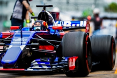 MONTREAL, QC - JUNE 09: Daniil Kvyat of Scuderia Toro Rosso and Russia during practice for the Canadian Formula One Grand Prix at Circuit Gilles Villeneuve on June 9, 2017 in Montreal, Canada. (Photo by Peter Fox/Getty Images) // Getty Images / Red Bull Content Pool // P-20170609-02597 // Usage for editorial use only // Please go to www.redbullcontentpool.com for further information. //