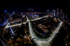 SINGAPORE - SEPTEMBER 15: A general view of the circuit during practice for the Formula One Grand Prix of Singapore at Marina Bay Street Circuit on September 15, 2017 in Singapore. (Photo by Clive Mason/Getty Images) // Getty Images / Red Bull Content Pool // P-20170915-00846 // Usage for editorial use only // Please go to www.redbullcontentpool.com for further information. //