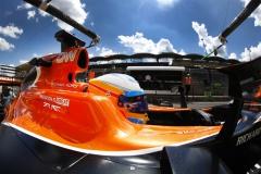 Silverstone, Northamptonshire, UK.Friday 28 July 2017.Fernando Alonso, McLaren.Photo: Steven Tee/McLarenref: Digital Image _O3I6418