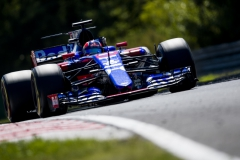 BUDAPEST, HUNGARY - JULY 30: Daniil Kvyat of Russia driving the (26) Scuderia Toro Rosso STR12 on track during the Formula One Grand Prix of Hungary at Hungaroring on July 30, 2017 in Budapest, Hungary. (Photo by Lars Baron/Getty Images) // Getty Images / Red Bull Content Pool // P-20170730-01471 // Usage for editorial use only // Please go to www.redbullcontentpool.com for further information. //