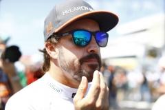 Hungaroring, Budapest, Hungary. .Sunday 30 July 2017.Fernando Alonso, McLaren. Photo: Steven Tee/McLarenref: Digital Image _R3I4275