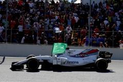Interlagos, Sao Paulo, Brazil.Sunday 12 November 2017.Felipe Massa, Williams FW40 Mercedes, flies a green flag from his cockpit after the race.Photo: Glenn Dunbar/Williamsref: Digital Image _31I4278