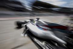 Interlagos, Sao Paulo, Brazil.Friday 10 November 2017.Felipe Massa, Williams FW40 Mercedes, leaves the garage.Photo: Glenn Dunbar/Williamsref: Digital Image _31I9417