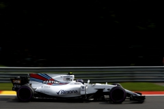 Spa Francorchamps, Belgium.Saturday 26 August 2017.Lance Stroll, Williams FW40 Mercedes.Photo: Glenn Dunbar/Williamsref: Digital Image _X4I6383