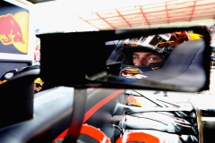 SPA, BELGIUM - AUGUST 25: Max Verstappen of Netherlands and Red Bull Racing prepares to drive during practice for the Formula One Grand Prix of Belgium at Circuit de Spa-Francorchamps on August 25, 2017 in Spa, Belgium. (Photo by Mark Thompson/Getty Images) // Getty Images / Red Bull Content Pool // P-20170825-01021 // Usage for editorial use only // Please go to www.redbullcontentpool.com for further information. //