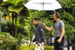 Sepang International Circuit, Sepang, Malaysia.Friday 29 September 2017.Stoffel Vandoorne, McLaren.Photo: Steven Tee/McLarenref: Digital Image _R3I2086