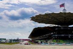 Sepang International Circuit, Sepang, Malaysia.Friday 29 September 2017.Sebastian Vettel, Ferrari SF70H. World Copyright: Glenn Dunbar/LAT Images ref: Digital Image _56I1395