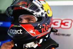 KUALA LUMPUR, MALAYSIA - SEPTEMBER 29: Max Verstappen of Netherlands and Red Bull Racing prepares to drive in the garage during practice for the Malaysia Formula One Grand Prix at Sepang Circuit on September 29, 2017 in Kuala Lumpur, Malaysia. (Photo by Mark Thompson/Getty Images) // Getty Images / Red Bull Content Pool // P-20170929-00378 // Usage for editorial use only // Please go to www.redbullcontentpool.com for further information. //