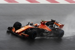 Sepang International Circuit, Sepang, Malaysia.Friday 29 September 2017.Stoffel Vandoorne, McLaren MCL32 Honda. World Copyright: Zak MaugerMcLaren ref: Digital Image _56I0492