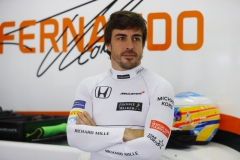 Sepang International Circuit, Sepang, Malaysia.Friday 29 September 2017.Fernando Alonso, McLaren.Photo: Steven Tee/McLarenref: Digital Image _R3I2290