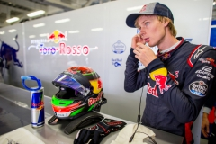 MEXICO CITY, MEXICO - OCTOBER 27: Brendon Hartley of Scuderia Toro Rosso and New Zealand during practice for the Formula One Grand Prix of Mexico at Autodromo Hermanos Rodriguez on October 27, 2017 in Mexico City, Mexico. (Photo by Peter Fox/Getty Images) // Getty Images / Red Bull Content Pool // P-20171028-00247 // Usage for editorial use only // Please go to www.redbullcontentpool.com for further information. //