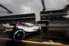 Suzuka Circuit, Japan.Friday 6 October 2017.Lance Stroll, Williams FW40 Mercedes.Photo: Glenn Dunbar/Williamsref: Digital Image _X4I5643