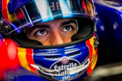SUZUKA, JAPAN - OCTOBER 06: Carlos Sainz of Scuderia Toro Rosso and Spain during practice for the Formula One Grand Prix of Japan at Suzuka Circuit on October 6, 2017 in Suzuka. (Photo by Peter Fox/Getty Images) // Getty Images / Red Bull Content Pool // P-20171006-00542 // Usage for editorial use only // Please go to www.redbullcontentpool.com for further information. //