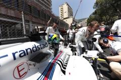 Monte Carlo, Monaco.Sunday 28 May 2017.Felipe Massa, Williams FW40 Mercedes, on the grid.Photo: Glenn Dunbar/Williamsref: Digital Image _X4I0204