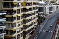 Monte Carlo, Monaco.Sunday 29 May 2016.Valtteri Bottas, Williams FW38 Mercedes, leads Kevin Magnussen, Renault RE16, and Max Verstappen, Red Bull Racing RB12 TAG Heuer.Photo: Steven Tee/Williamsref: Digital Image _H7I1451