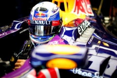 BUDAPEST, HUNGARY - JULY 24: Daniel Ricciardo of Australia and Infiniti Red Bull Racing sits in his car in the garage during practice for the Formula One Grand Prix of Hungary at Hungaroring on July 24, 2015 in Budapest, Hungary. (Photo by Mark Thompson/Getty Images) // Getty Images/Red Bull Content Pool // P-20150724-00137 // Usage for editorial use only // Please go to www.redbullcontentpool.com for further information. //