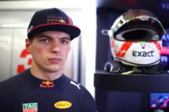 BAKU, AZERBAIJAN - APRIL 27: Max Verstappen of Netherlands and Red Bull Racing prepares to drive in the garage during qualifying for the F1 Grand Prix of Azerbaijan at Baku City Circuit on April 27, 2019 in Baku, Azerbaijan. (Photo by Mark Thompson/Getty Images) // Getty Images / Red Bull Content Pool  // AP-1Z5Q4V6PS2511 // Usage for editorial use only // Please go to www.redbullcontentpool.com for further information. //