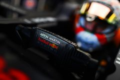 BAKU, AZERBAIJAN - APRIL 27: Max Verstappen of Netherlands and Red Bull Racing prepares to drive in the garage during qualifying for the F1 Grand Prix of Azerbaijan at Baku City Circuit on April 27, 2019 in Baku, Azerbaijan. (Photo by Mark Thompson/Getty Images) // Getty Images / Red Bull Content Pool  // AP-1Z5QBQM352511 // Usage for editorial use only // Please go to www.redbullcontentpool.com for further information. //