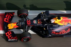ABU DHABI, UNITED ARAB EMIRATES - NOVEMBER 30: Max Verstappen of the Netherlands driving the (33) Aston Martin Red Bull Racing RB15 on track during final practice for the F1 Grand Prix of Abu Dhabi at Yas Marina Circuit on November 30, 2019 in Abu Dhabi, United Arab Emirates. (Photo by Charles Coates/Getty Images) // Getty Images / Red Bull Content Pool  // AP-22BGNU67N1W11 // Usage for editorial use only //