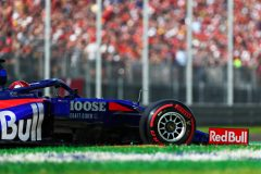 MONZA, ITALY - SEPTEMBER 07: Daniil Kvyat driving the (26) Scuderia Toro Rosso STR14 Honda on track during qualifying for the F1 Grand Prix of Italy at Autodromo di Monza on September 07, 2019 in Monza, Italy. (Photo by Dan Istitene/Getty Images) // Getty Images / Red Bull Content Pool  // AP-21GFV631D2111 // Usage for editorial use only //