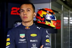 MONZA, ITALY - SEPTEMBER 07: Alexander Albon of Thailand and Red Bull Racing prepares to drive in the garage during qualifying for the F1 Grand Prix of Italy at Autodromo di Monza on September 07, 2019 in Monza, Italy. (Photo by Mark Thompson/Getty Images) // Getty Images / Red Bull Content Pool  // AP-21GGU9UH92111 // Usage for editorial use only //