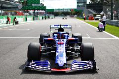 MONZA, ITALY - SEPTEMBER 08: Daniil Kvyat of Russia and Scuderia Toro Rosso prepares to drive on the grid before the F1 Grand Prix of Italy at Autodromo di Monza on September 08, 2019 in Monza, Italy. (Photo by Mark Thompson/Getty Images) // Getty Images / Red Bull Content Pool  // AP-21GSXVT6D2111 // Usage for editorial use only //