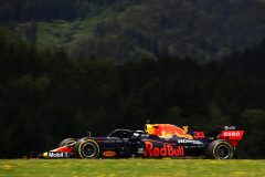 SPIELBERG, AUSTRIA - JULY 04: Max Verstappen of the Netherlands driving the (33) Aston Martin Red Bull Racing RB16 on track during final practice for the Formula One Grand Prix of Austria at Red Bull Ring on July 04, 2020 in Spielberg, Austria. (Photo by Bryn Lennon/Getty Images) // Getty Images / Red Bull Content Pool  // AP-24HAVZ68N1W11 // Usage for editorial use only //