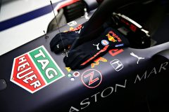 SPIELBERG, AUSTRIA - JULY 11: A detailed view of the gloves of Max Verstappen of Netherlands and Red Bull Racing in the garage during qualifying for the Formula One Grand Prix of Styria at Red Bull Ring on July 11, 2020 in Spielberg, Austria. (Photo by Getty Images/Getty Images) // Getty Images / Red Bull Content Pool  // AP-24KPCUMPN2111 // Usage for editorial use only //