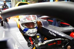 SPIELBERG, AUSTRIA - JULY 11: Max Verstappen of Netherlands and Red Bull Racing prepares to drive in the garage during qualifying for the Formula One Grand Prix of Styria at Red Bull Ring on July 11, 2020 in Spielberg, Austria. (Photo by Getty Images/Getty Images) // Getty Images / Red Bull Content Pool  // AP-24KNFMWDW1W11 // Usage for editorial use only //