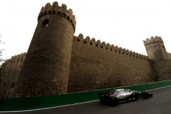 Baku City Circuit, Baku, Azerbaijan.Sunday 29 April 2018.Lance Stroll, Williams FW41 Mercedes.Photo: Zak Mauger/Williams F1ref: Digital Image _56I8796
