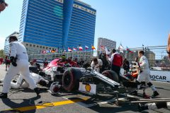 GIOVINAZZI Antonio (ita), Alfa Romeo Racing C38, action, starting grid during the 2019 Formula One World Championship, Grand Prix of Azerbaijan from April 25 to 28 in Baku - Photo Antonin Vincent / DPPI