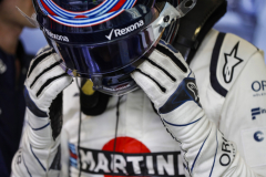 Baku City Circuit, Baku, Azerbaijan.Saturday 28 April 2018.Lance Stroll, Williams Racing.Photo: Glenn Dunbar/Williams F1ref: Digital Image _X4I9452
