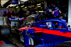 BAKU, AZERBAIJAN - APRIL 27:  Pierre Gasly of Scuderia Toro Rosso and France during practice for the Azerbaijan Formula One Grand Prix at Baku City Circuit on April 27, 2018 in Baku, Azerbaijan.  (Photo by Peter Fox/Getty Images) // Getty Images / Red Bull Content Pool  // AP-1VG86K4351W11 // Usage for editorial use only // Please go to www.redbullcontentpool.com for further information. //